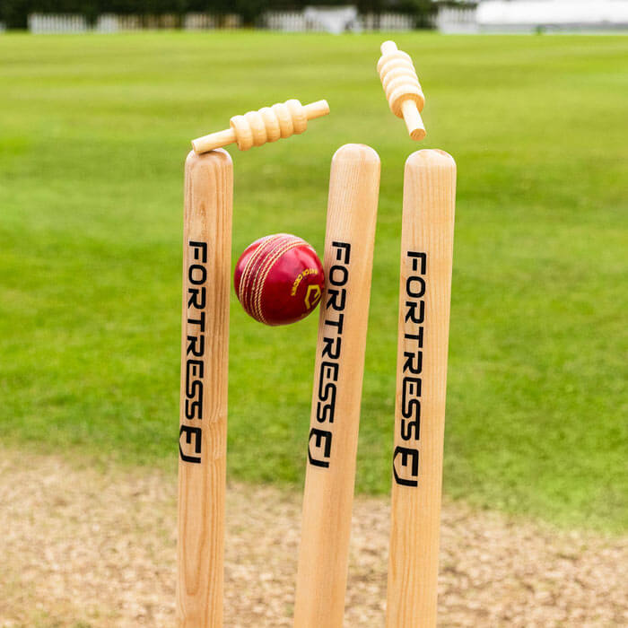 Stumps in cricket game
