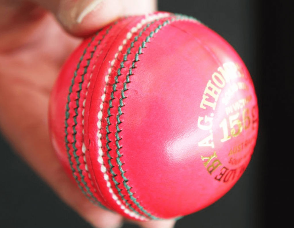 Pink ball cricket