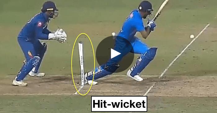 Batsman Out Hit Wicket