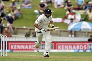 Batsman scoring run in cricket game