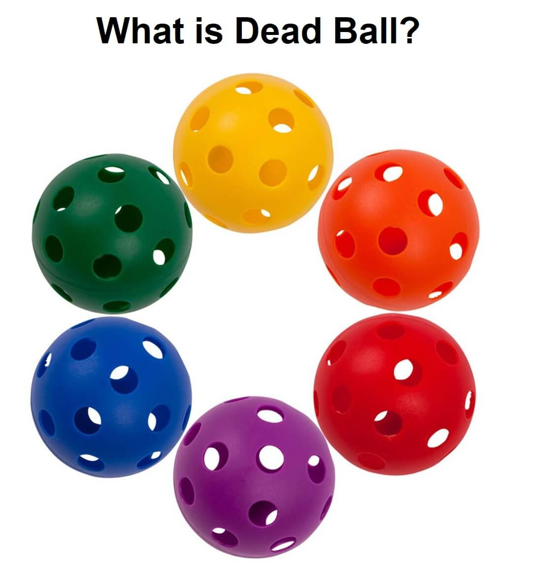 What is dead ball in racket sports