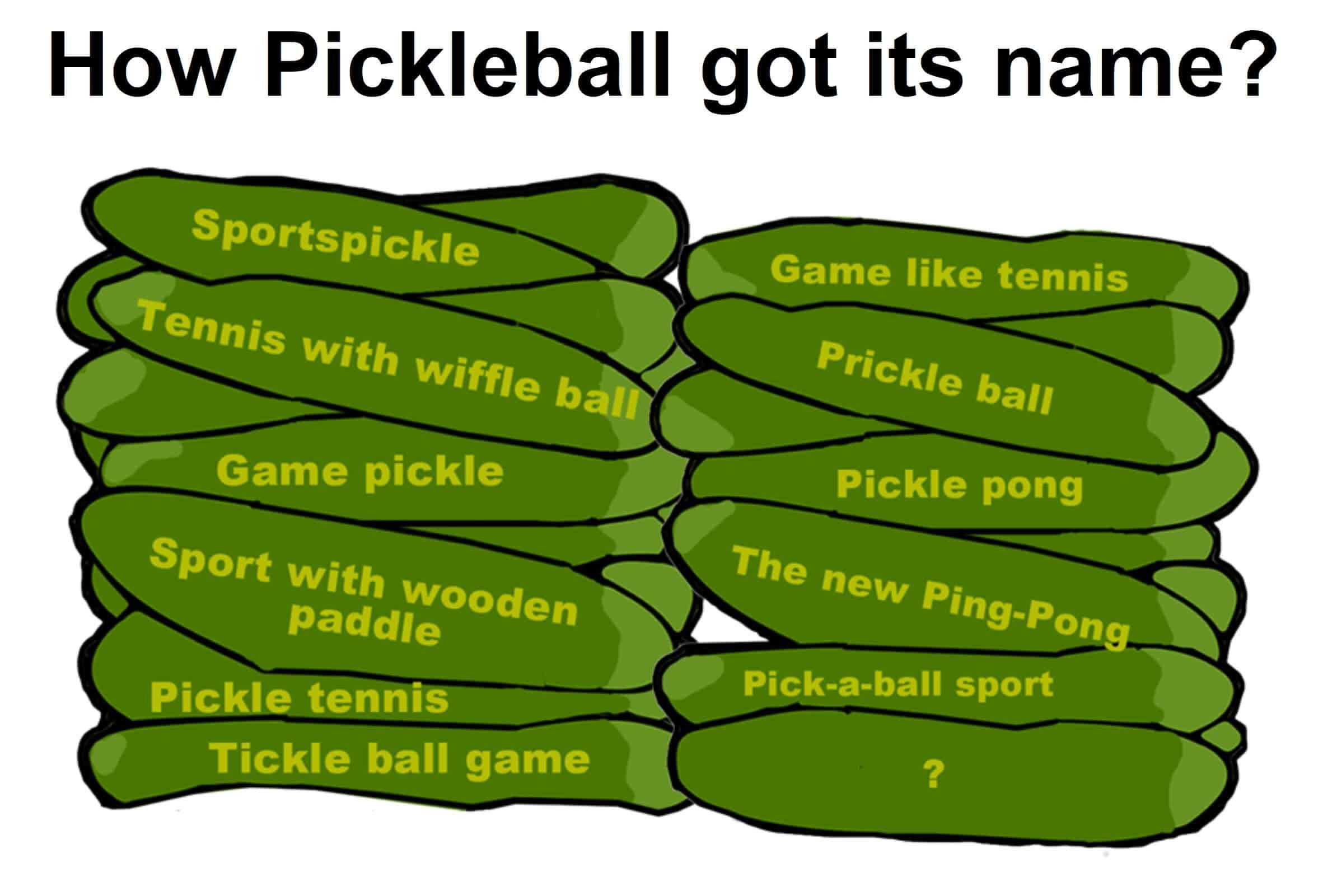 How pickleball game got its name