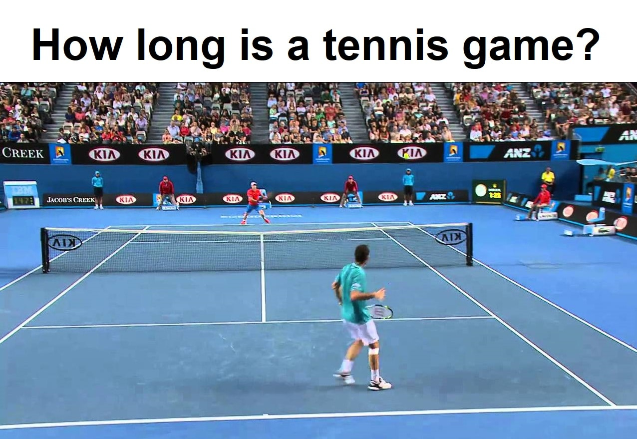 How long is the tennis game