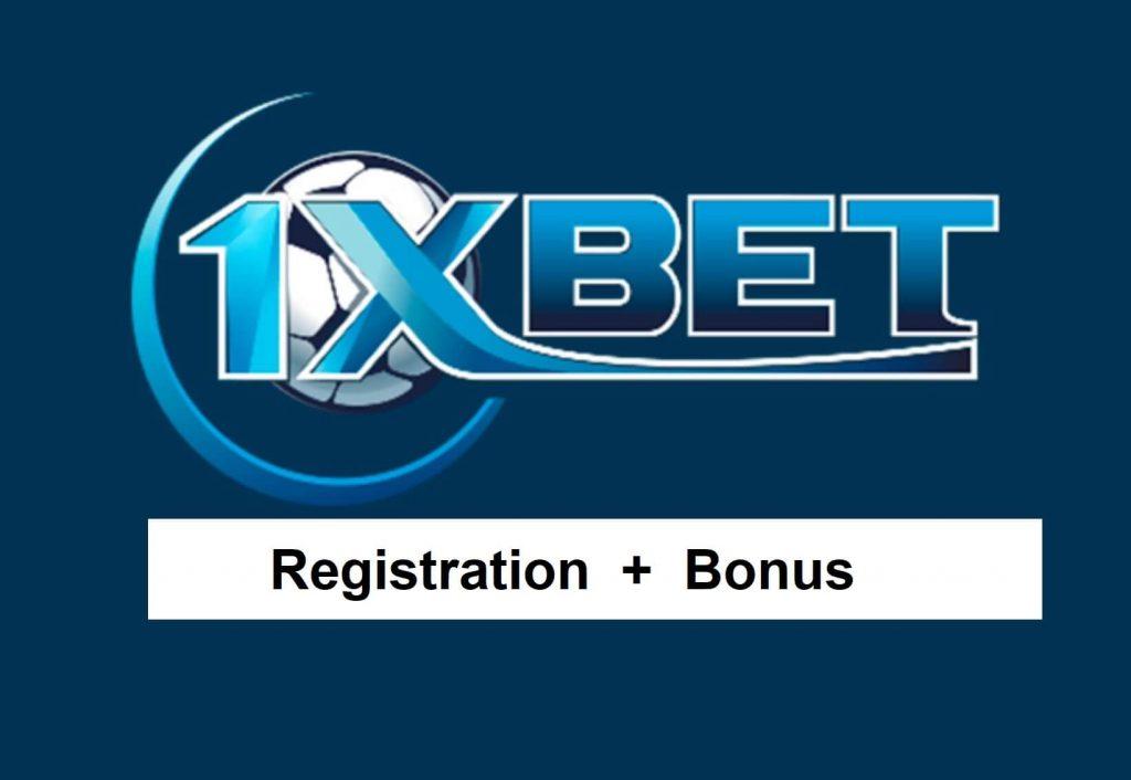 1xbet registration and bonus