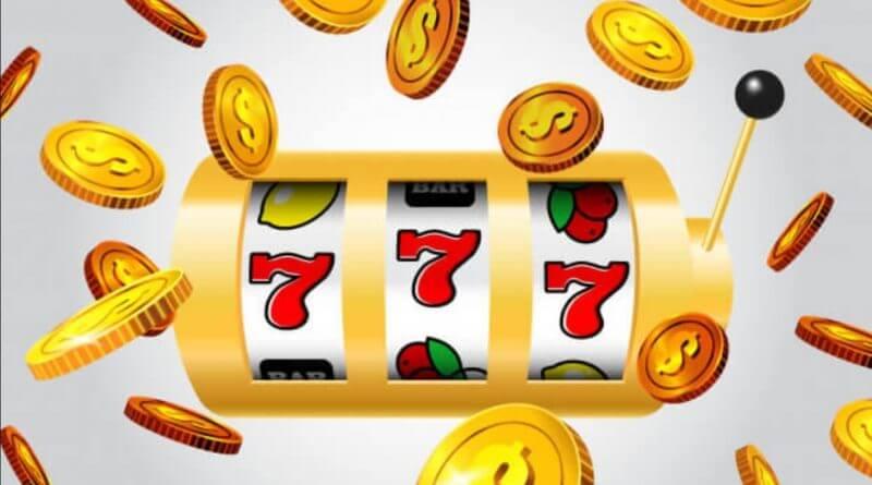 Slot machine winning lucky 777