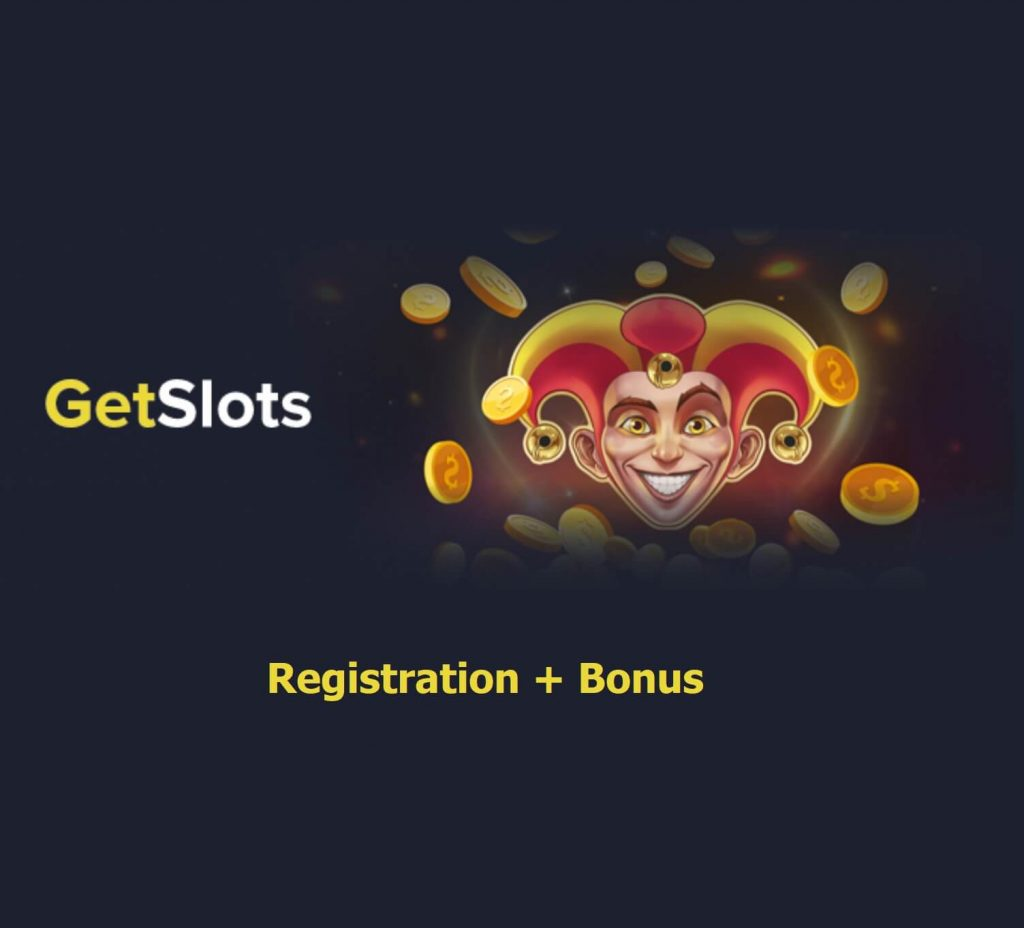 Getslots casino registration