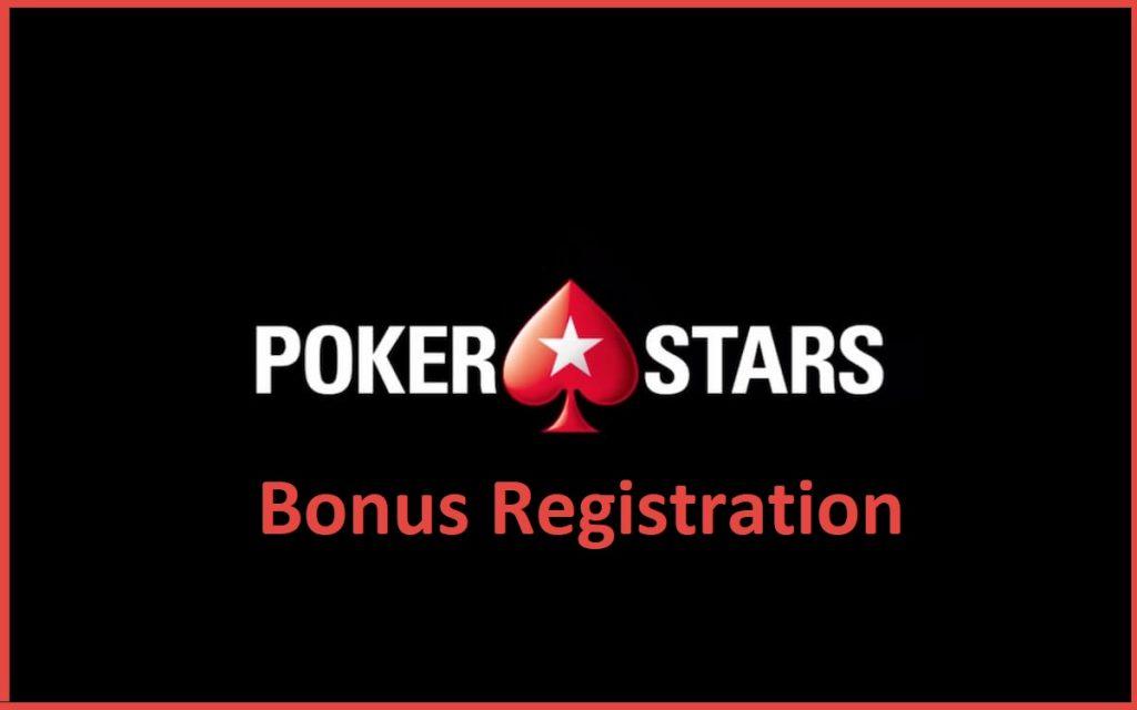 Poker Stars registration