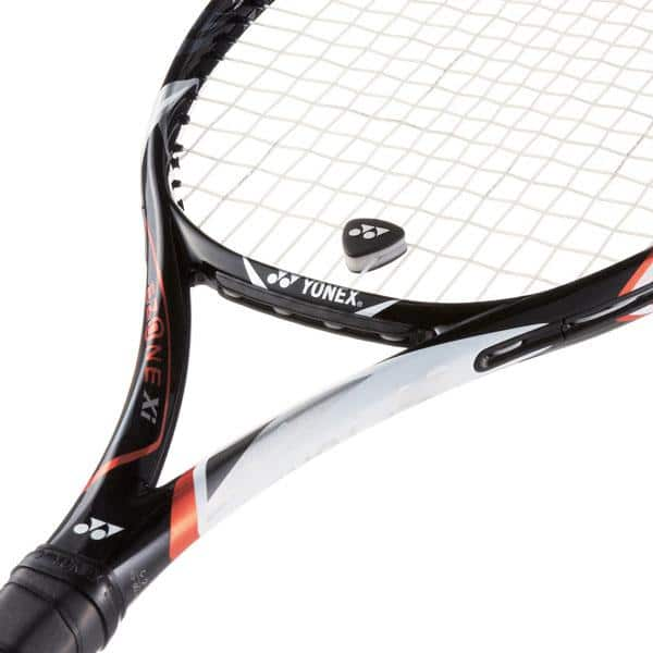 What is the little plastic thing on a tennis racquet - Vibration Dampener