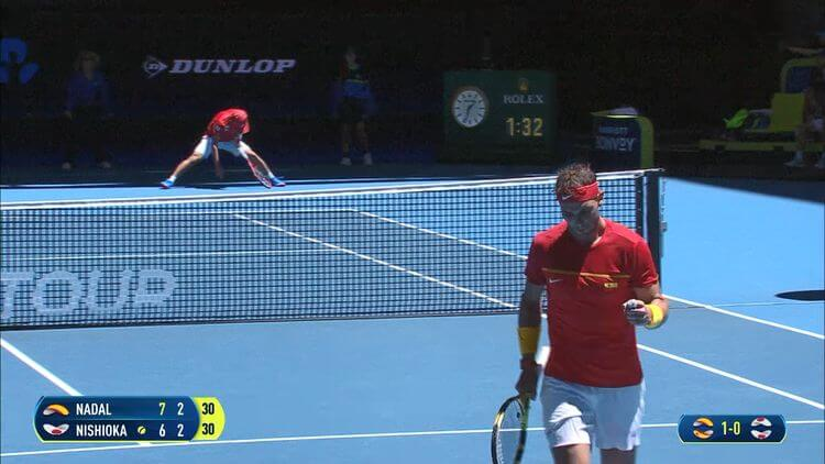 What is tie break in tennis