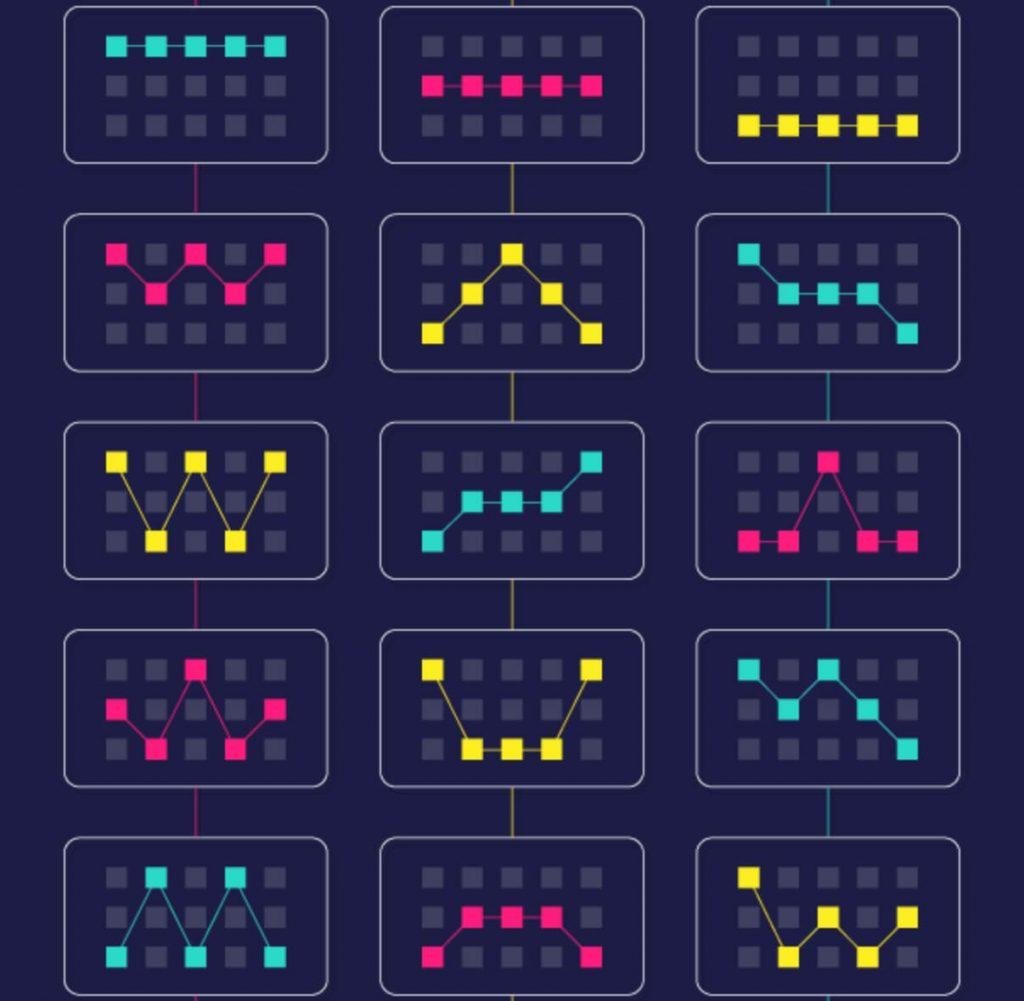 Casino slot pay lines