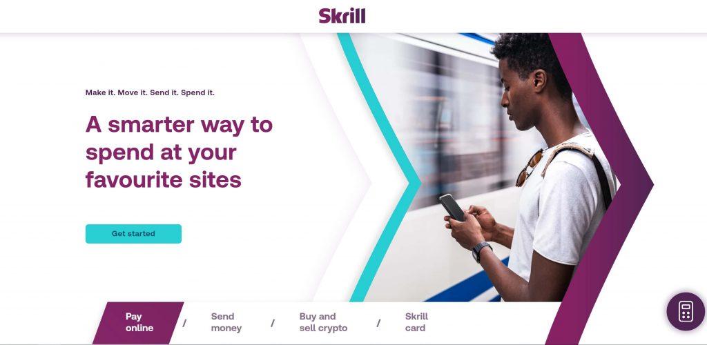 Skrill transfer money online with Skrill eWallet