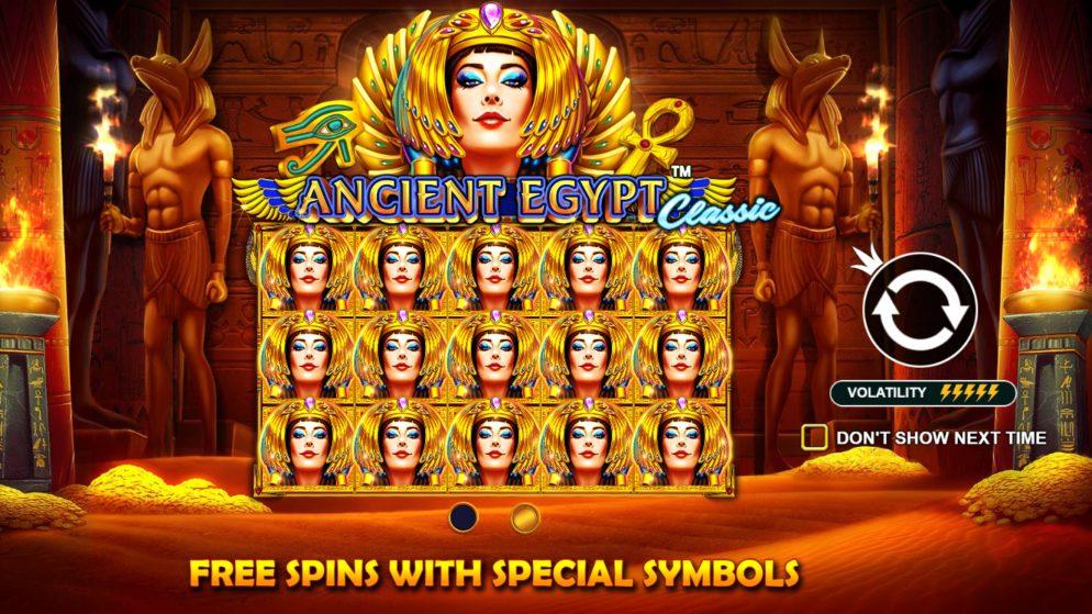 Slot machine Ancient Egypt Classic