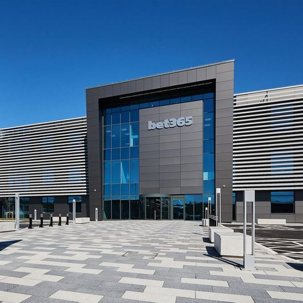 Bet365 headquarters in Stoke-on-Trent, United Kingdom