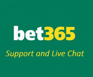 Bet 365 support team and live chat option