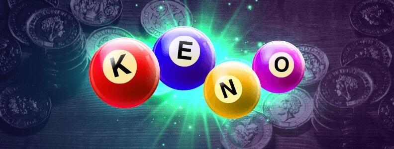 Keno gambling game
