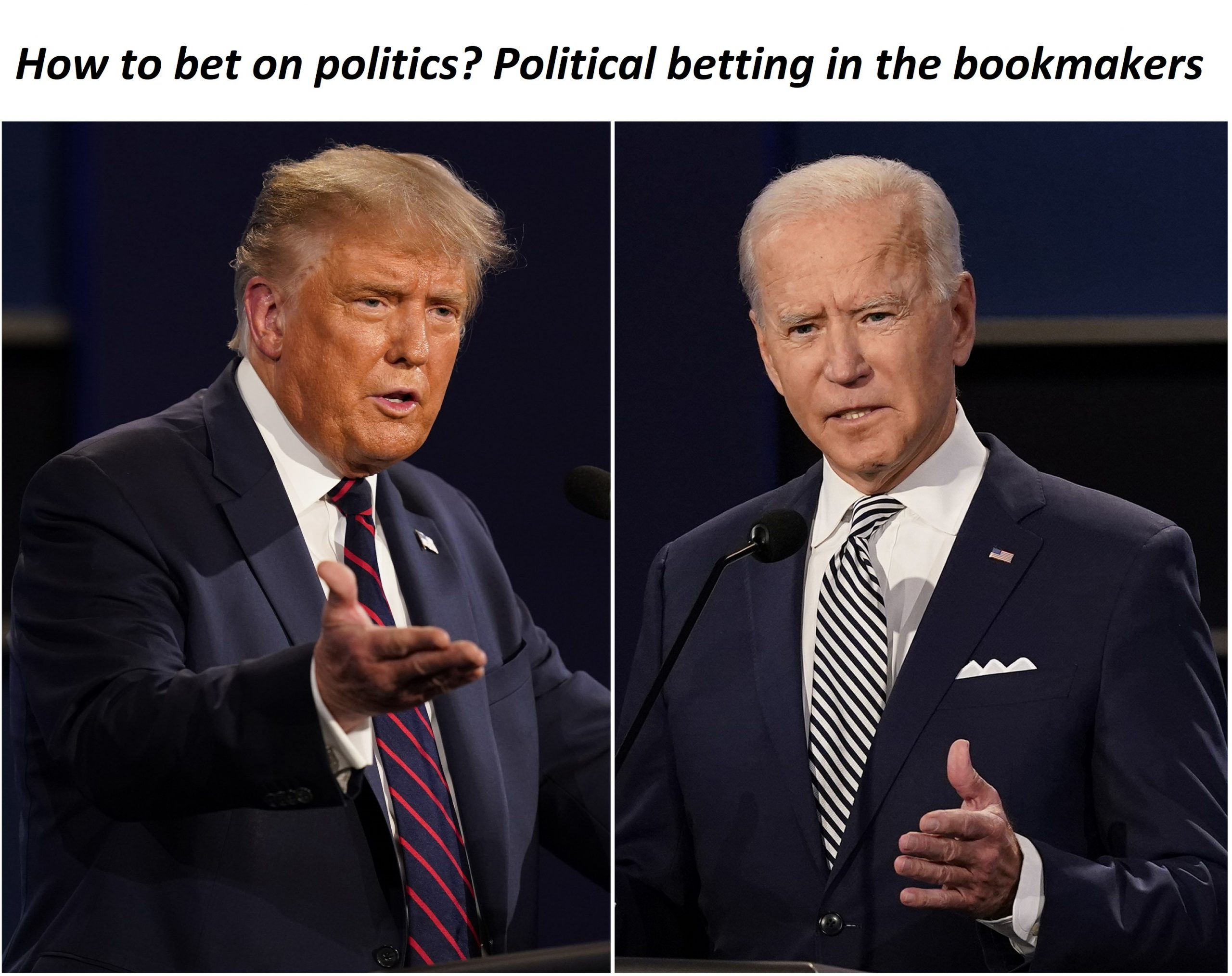 Political betting - how to bet on politics