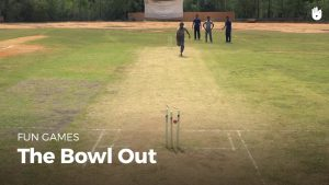 What is bowl out in cricket