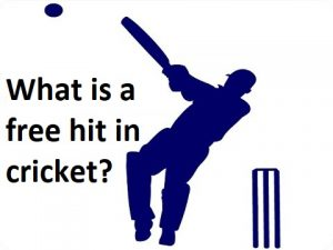 Free hit in cricket