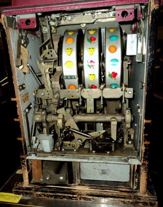 Slot Machine inside