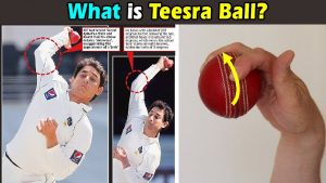 Teesra in cricket