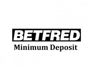 Betfred minimum deposit